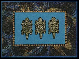 This card was created using the Mimbreno Horned Toad stamp.